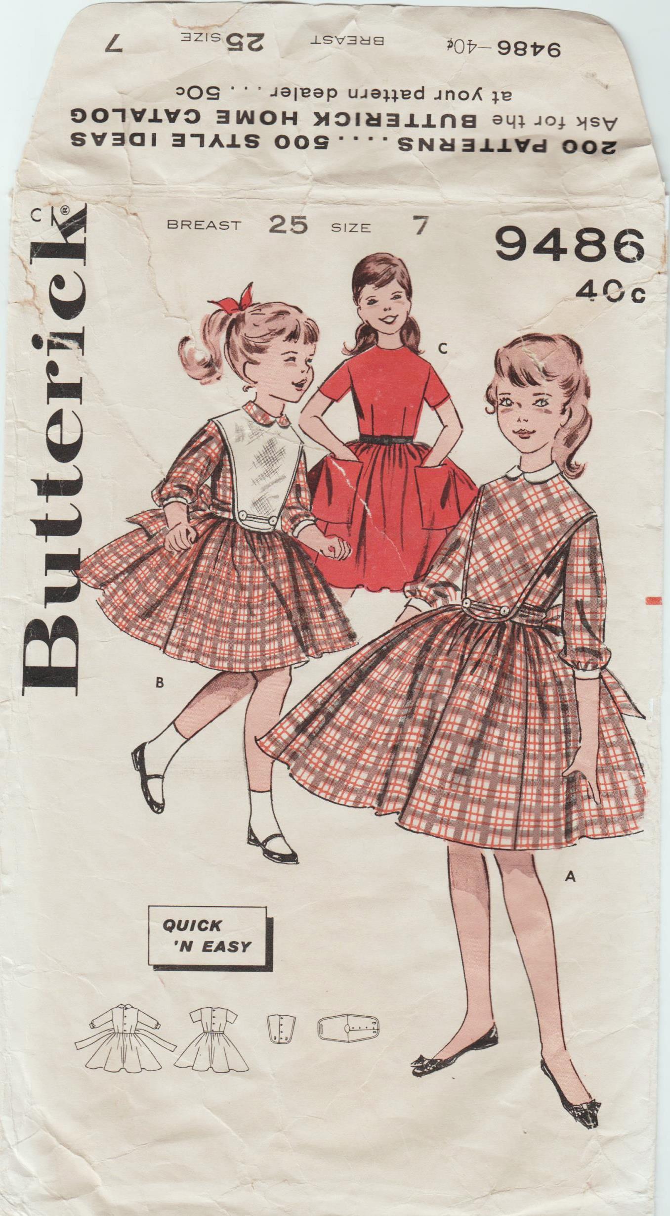 Butterick 9486