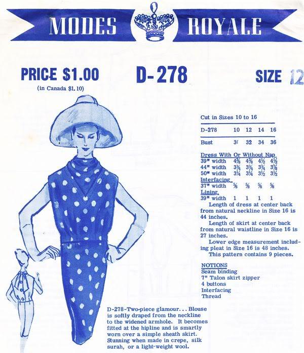 Modes Royale D-278