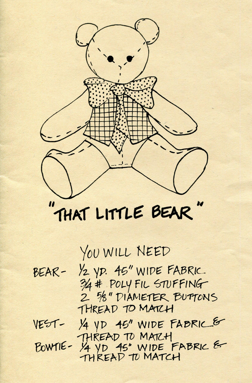 Kandy Petersen That Little Bear