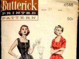 Butterick 6548 A