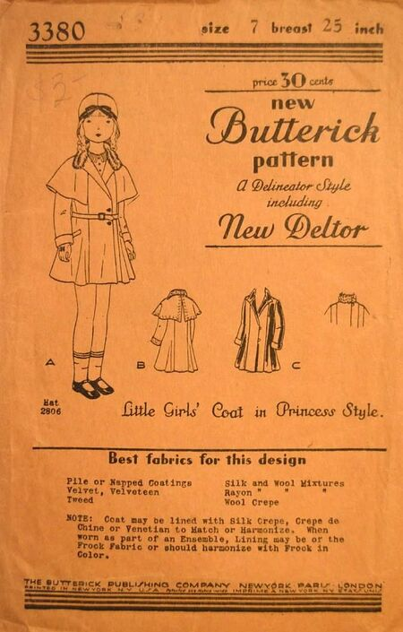 Butterick 3380