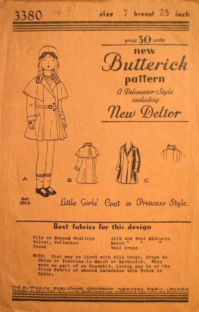 Butterick 3380 C