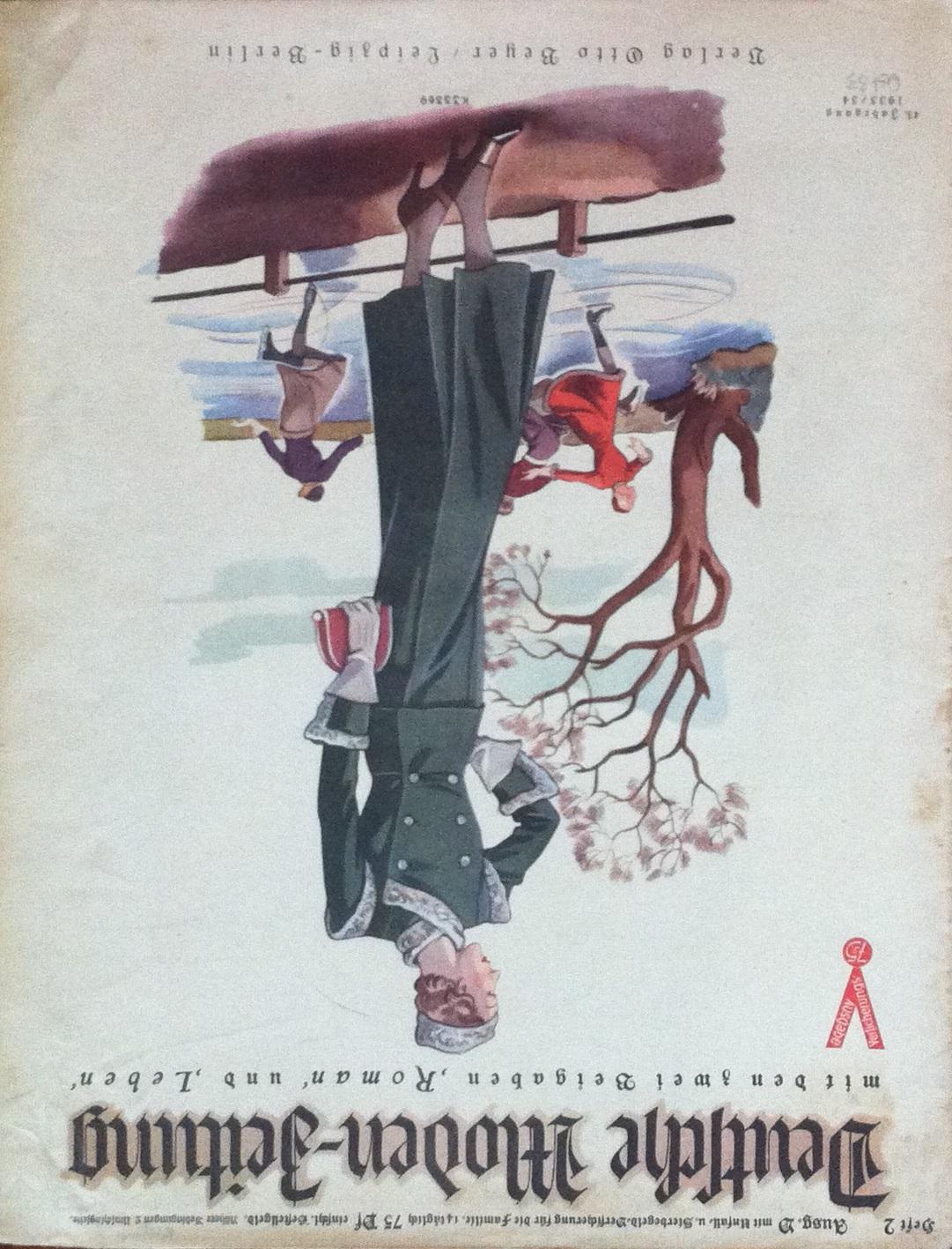 Deutsche Moden-Zeitung No. 2 Vol. 43 1933/34