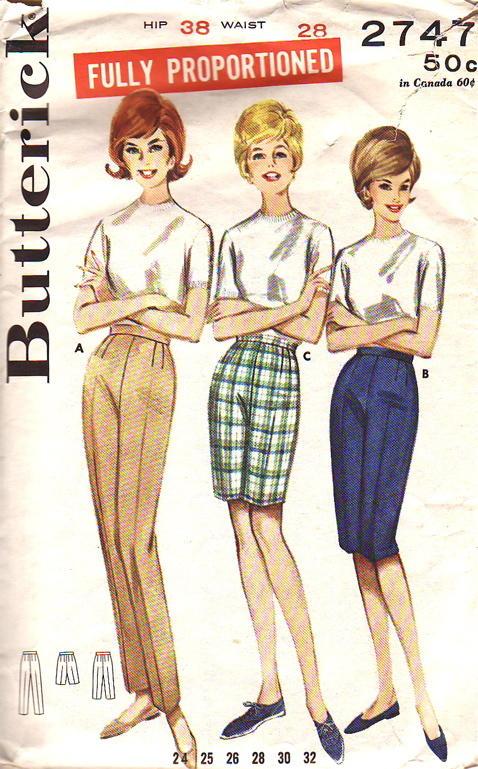 Butterick 2747