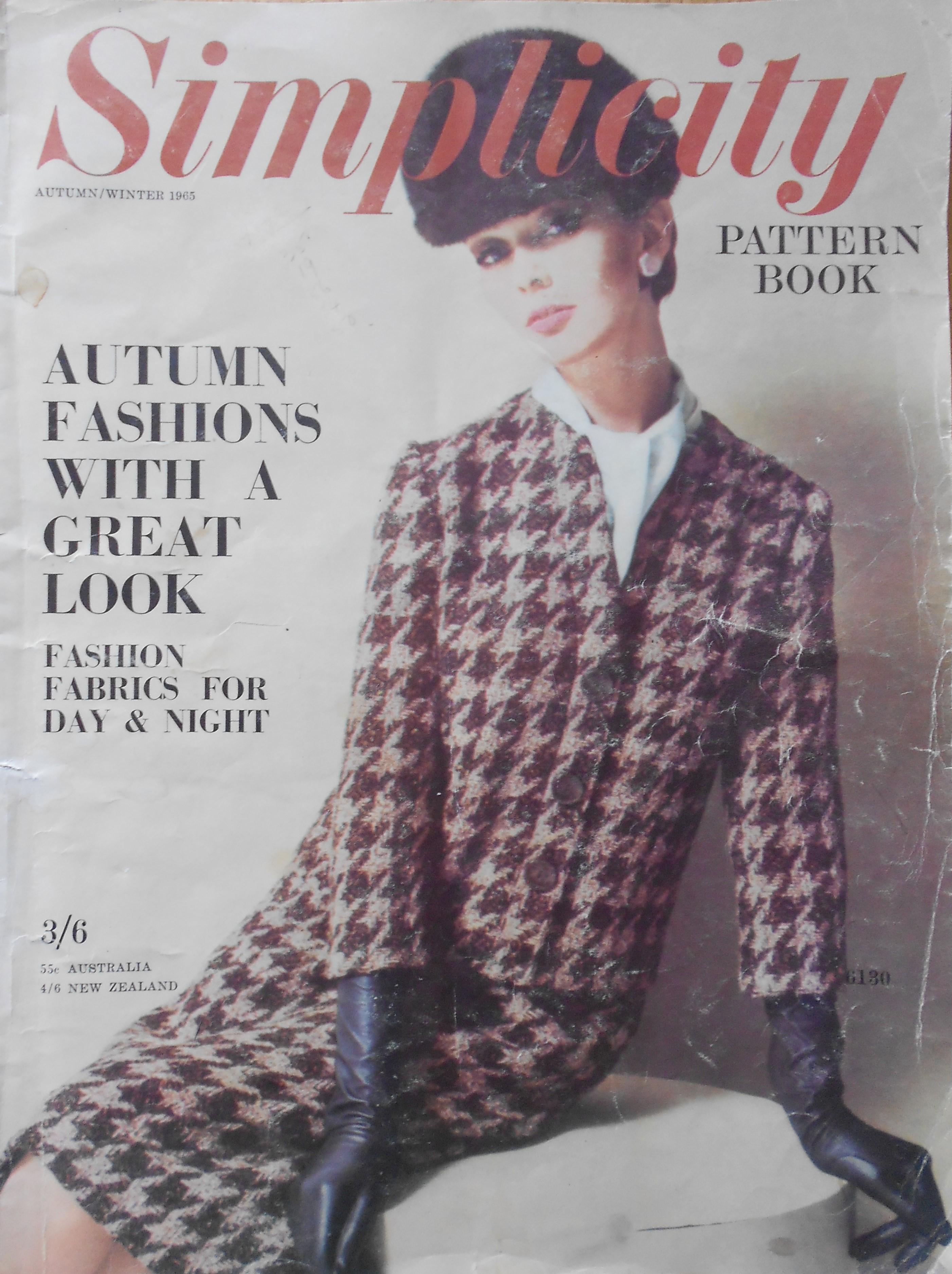 Simplicity Pattern Book Autumn/Winter 1965