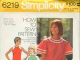 Simplicity 6219