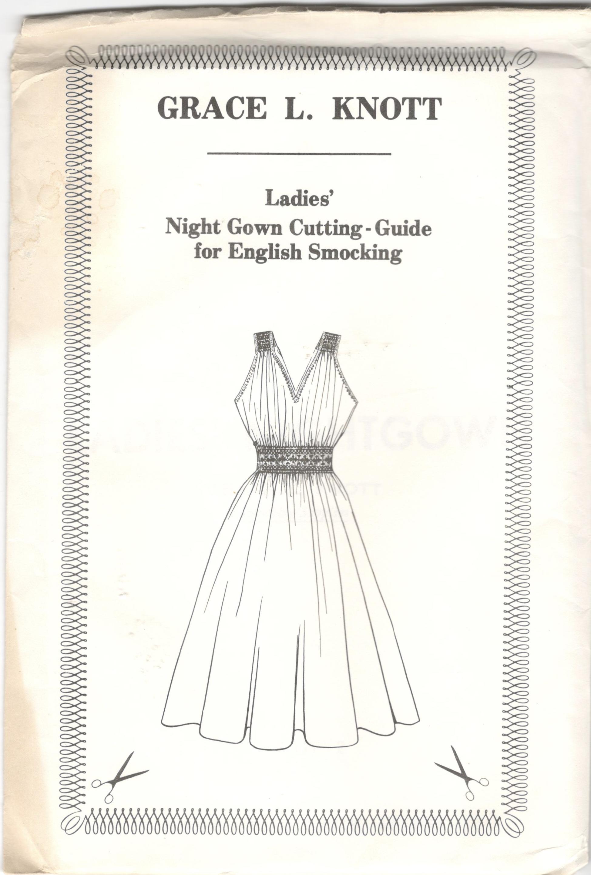 Grace L. Knott Ladies' Nightgown