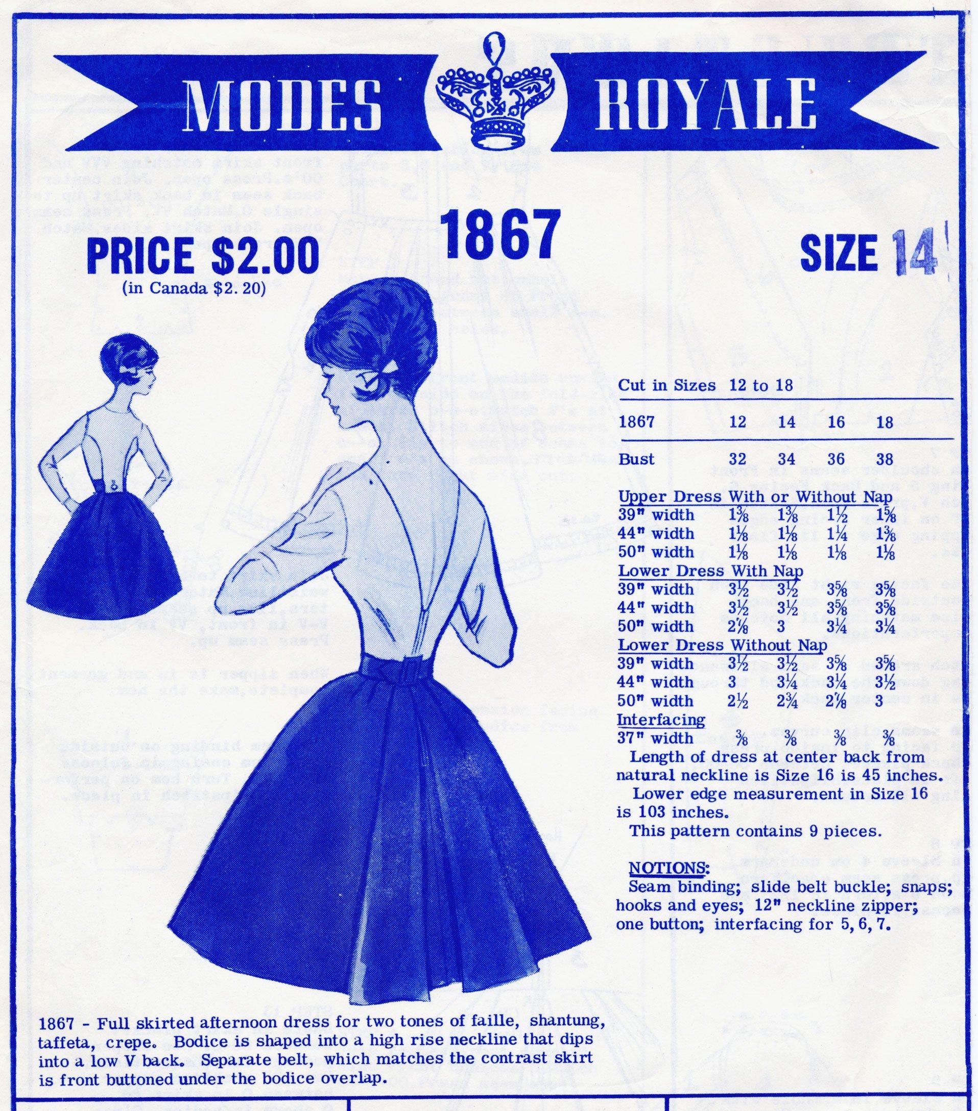 Modes Royale 1867