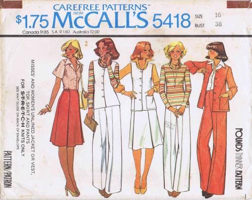 McCall's 5418