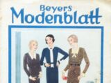 Beyers Modenblatt No. 22 Vol. 10 1932