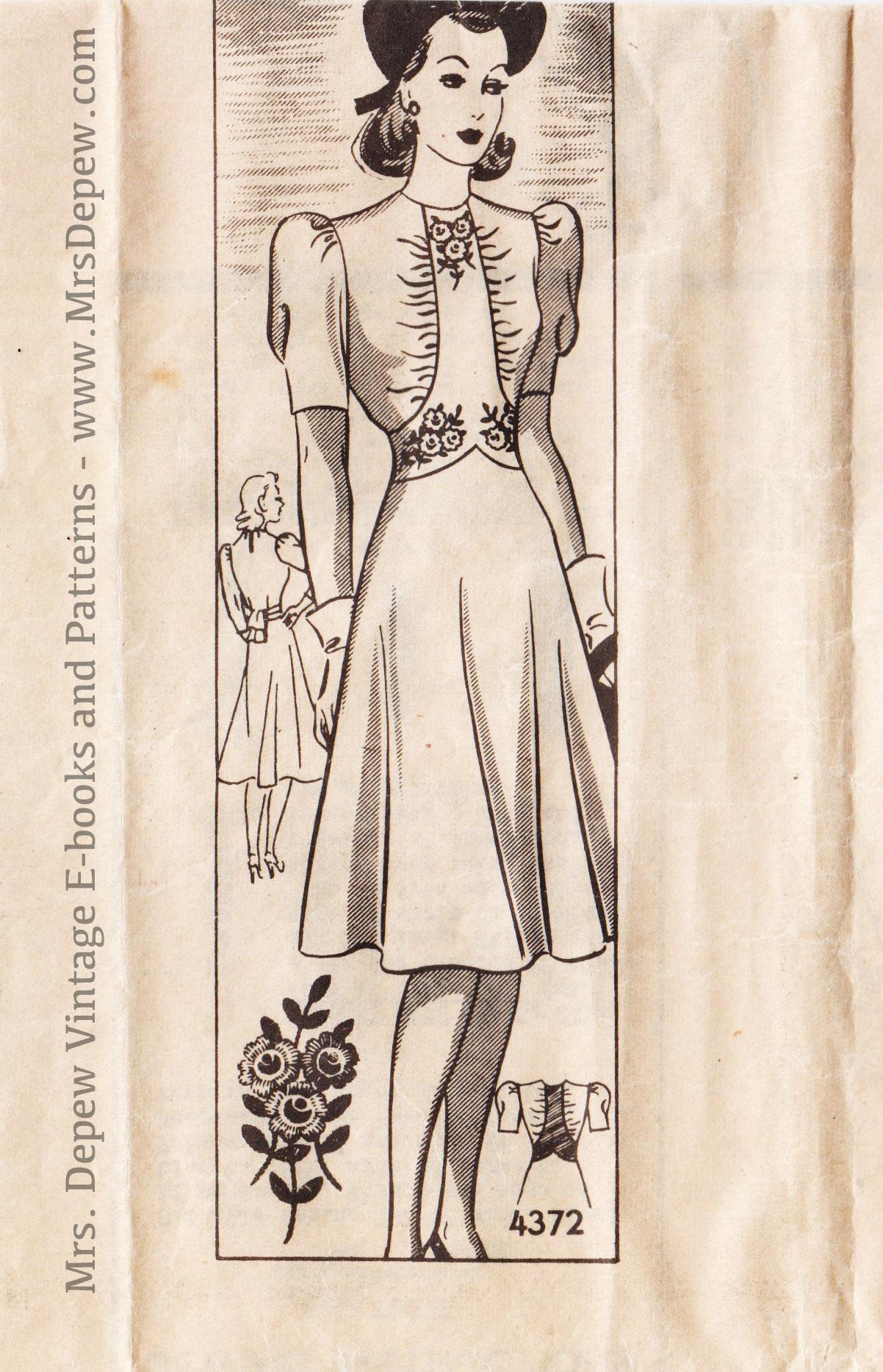 Anne Adams 4372 A