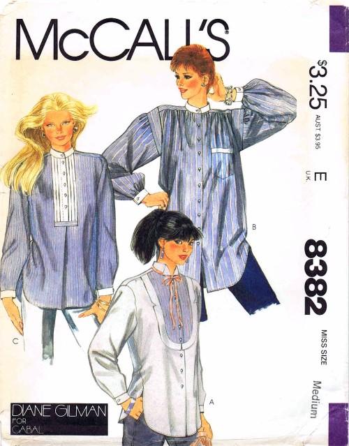 McCall's 8382 A