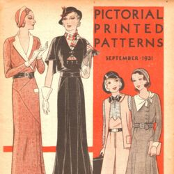Pictorial Printed Patterns September 1931