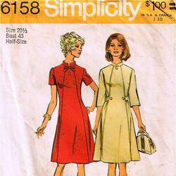 Simplicity 6158