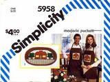 Simplicity 5958 A