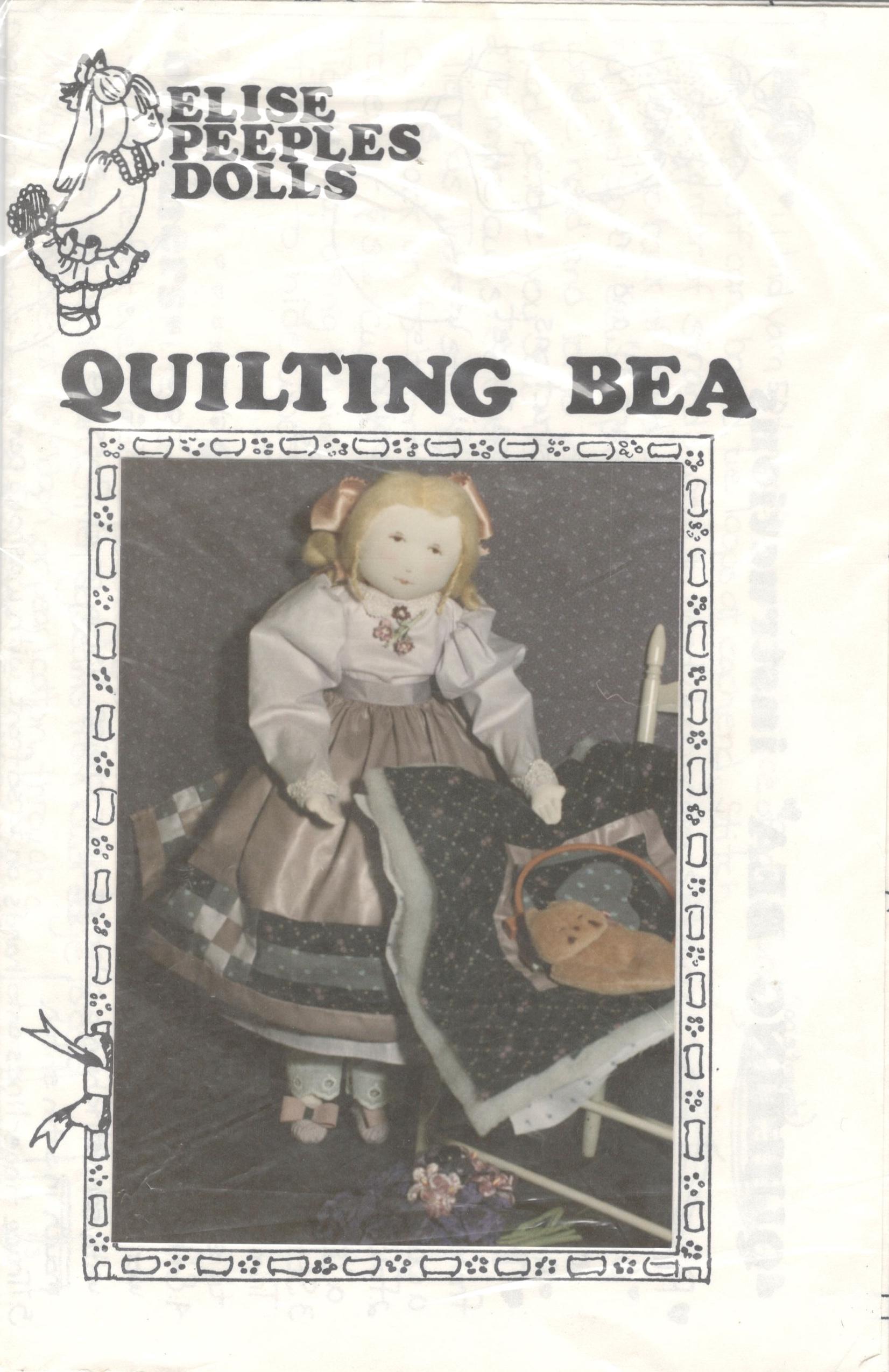Elise Peeples Dolls - Quilting Bea