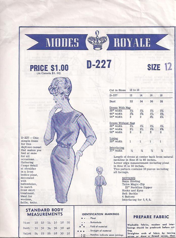 Modes Royale D-227