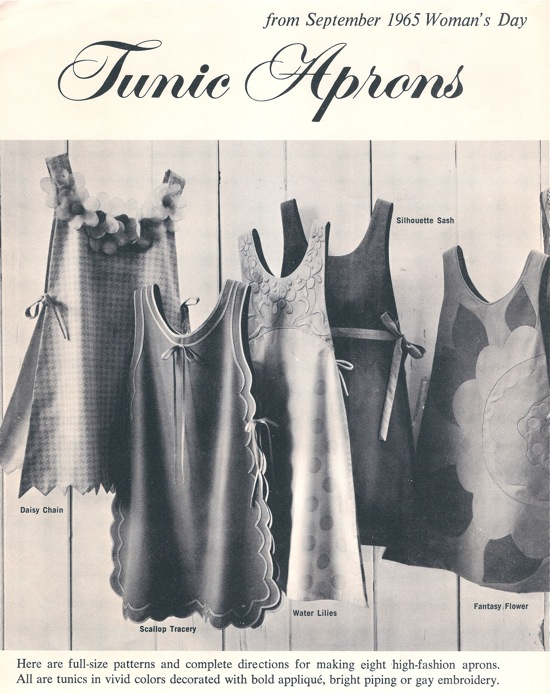 Woman's Day Tunic Aprons