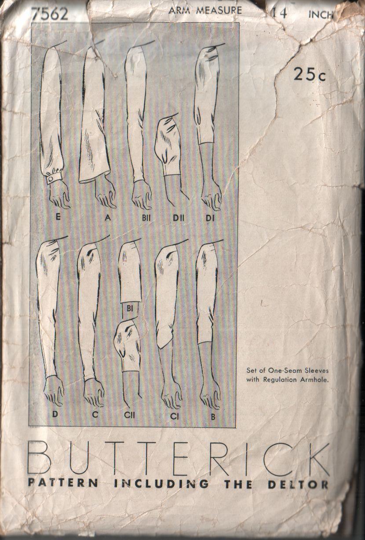 Butterick 7562