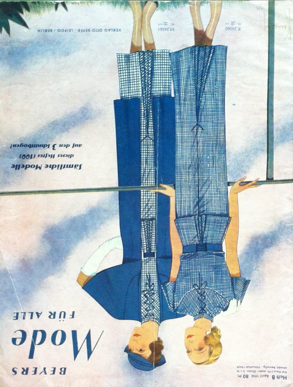 Beyers Mode für Alle No. 8 1934