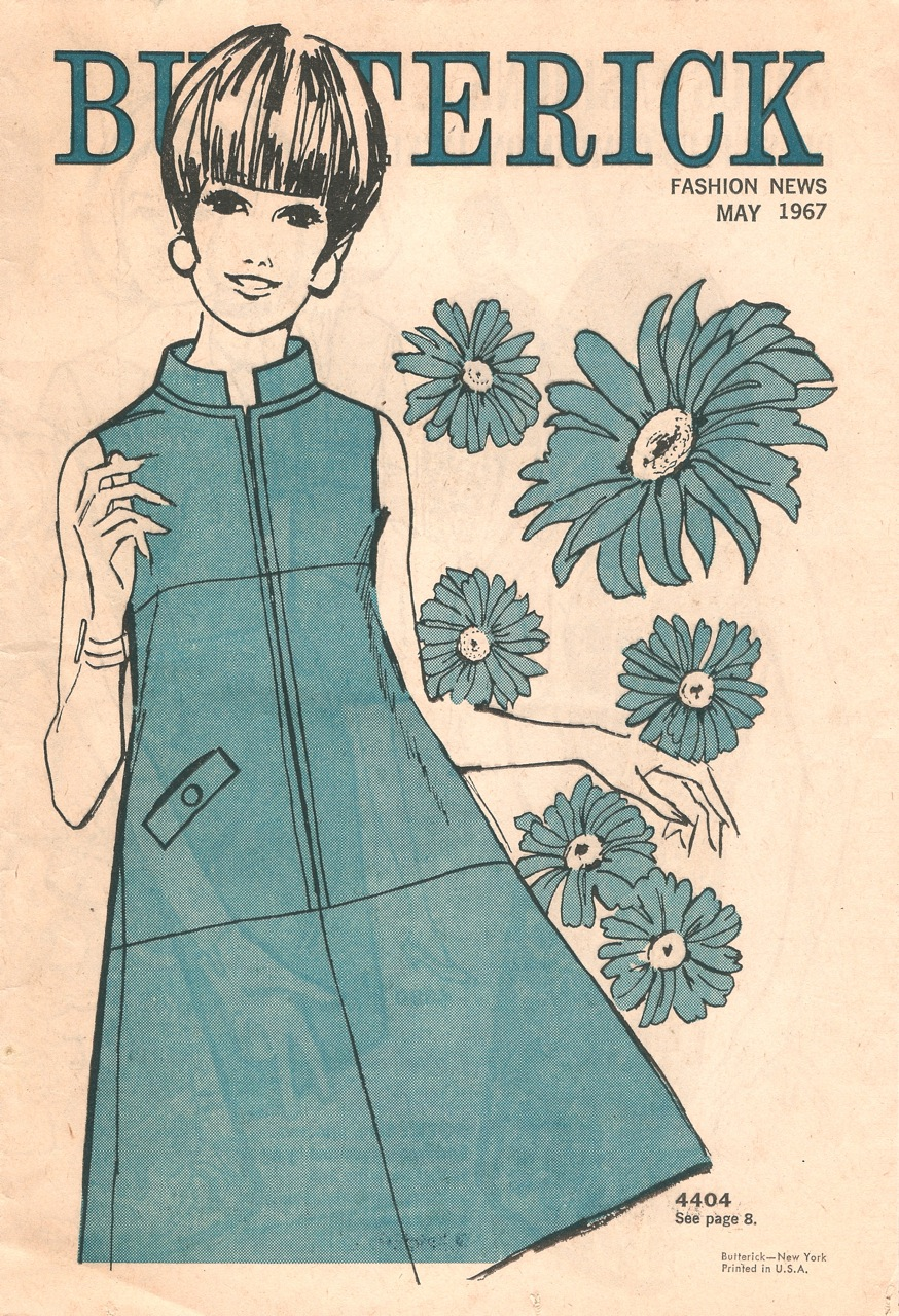 Butterick Fashion News May 1967