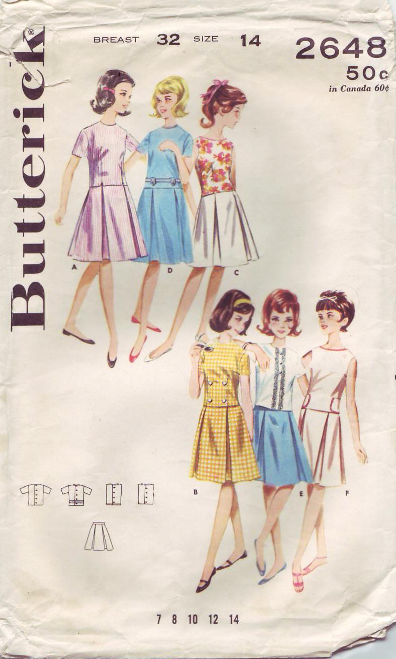 Butterick 2648 A