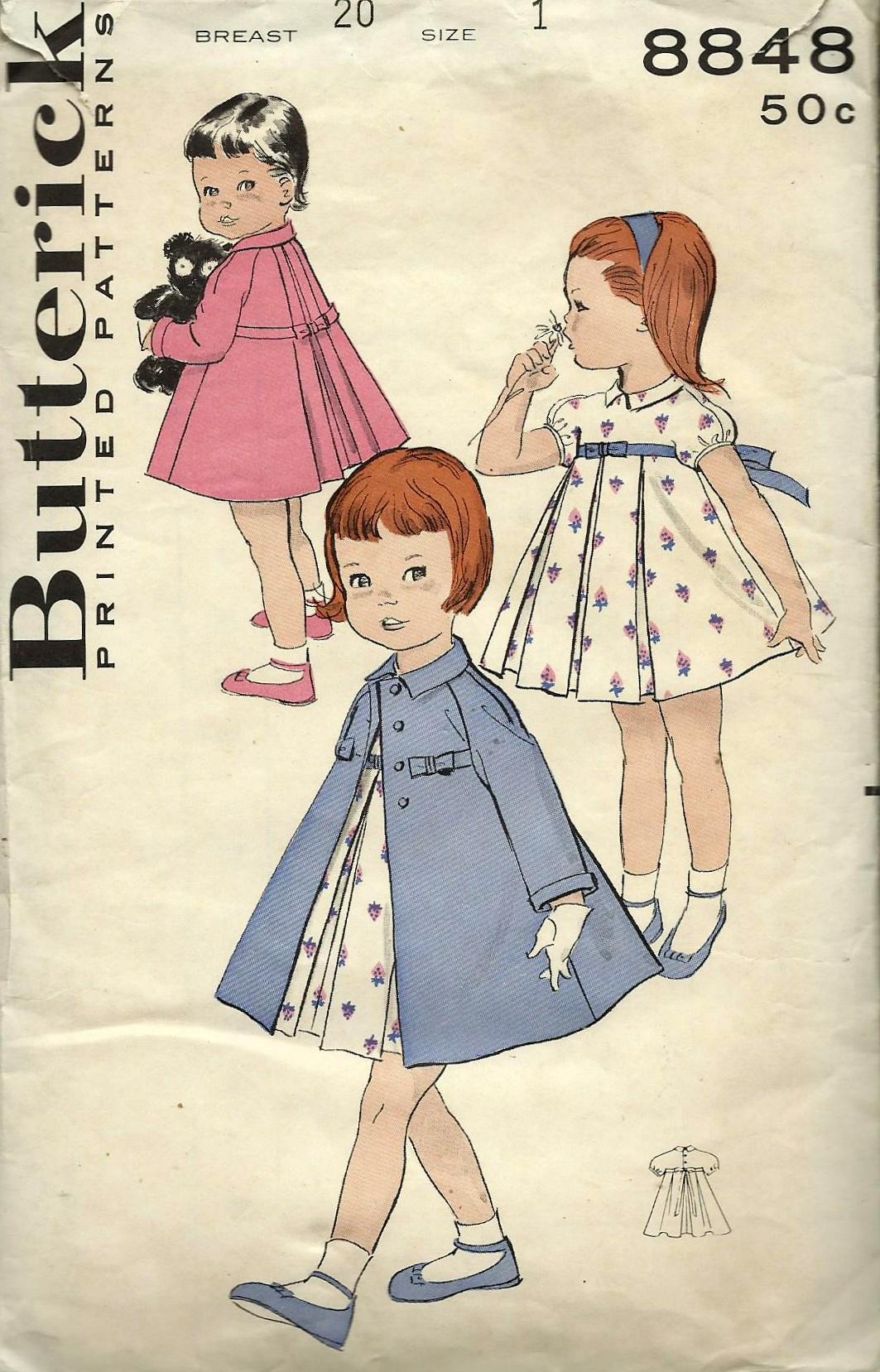 Butterick 8848 A