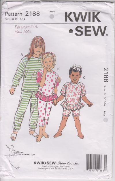 Kwik Sew 2188