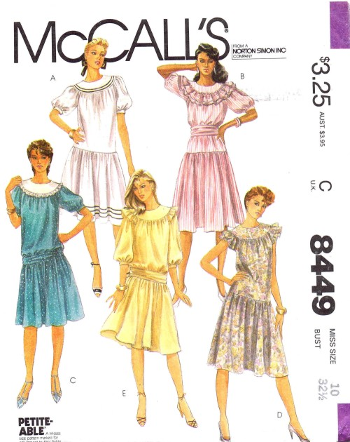 McCall's 8449
