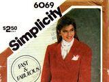 Simplicity 6069 A