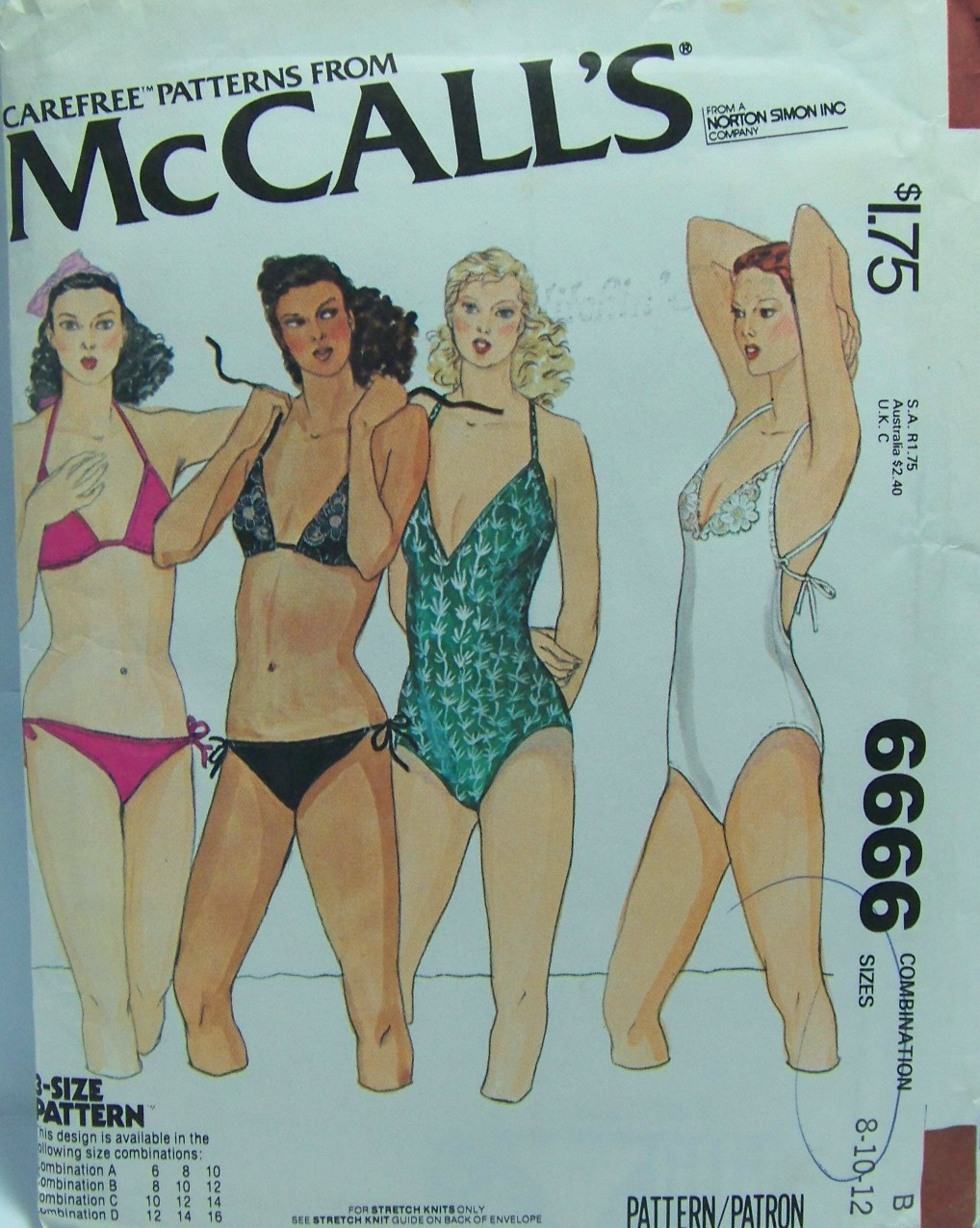 McCall's 6666