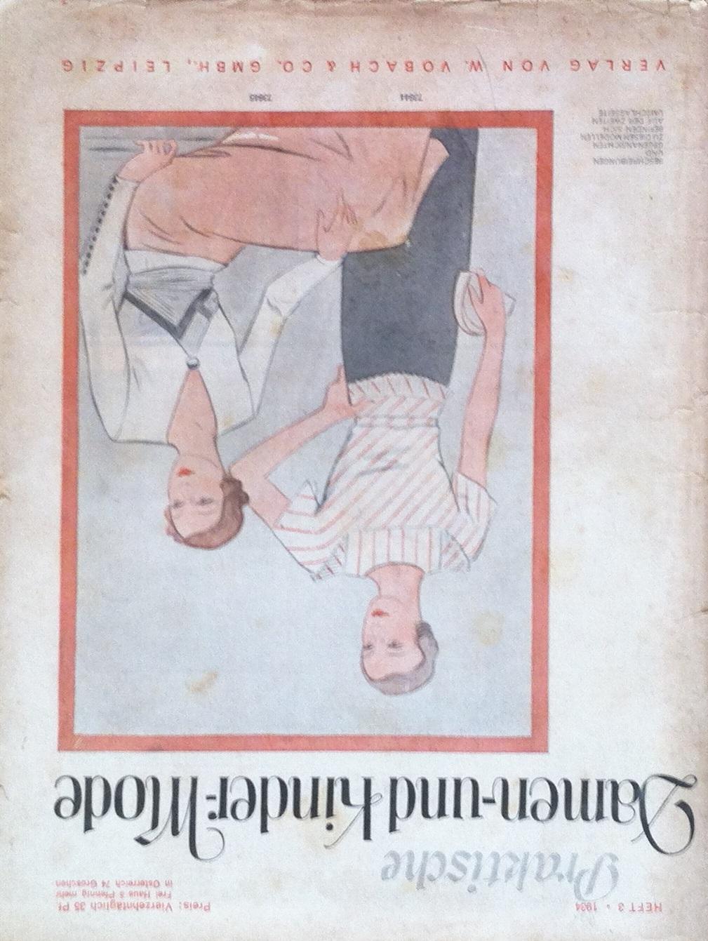 Praktische Damen- und Kinder-Mode No. 3 1934