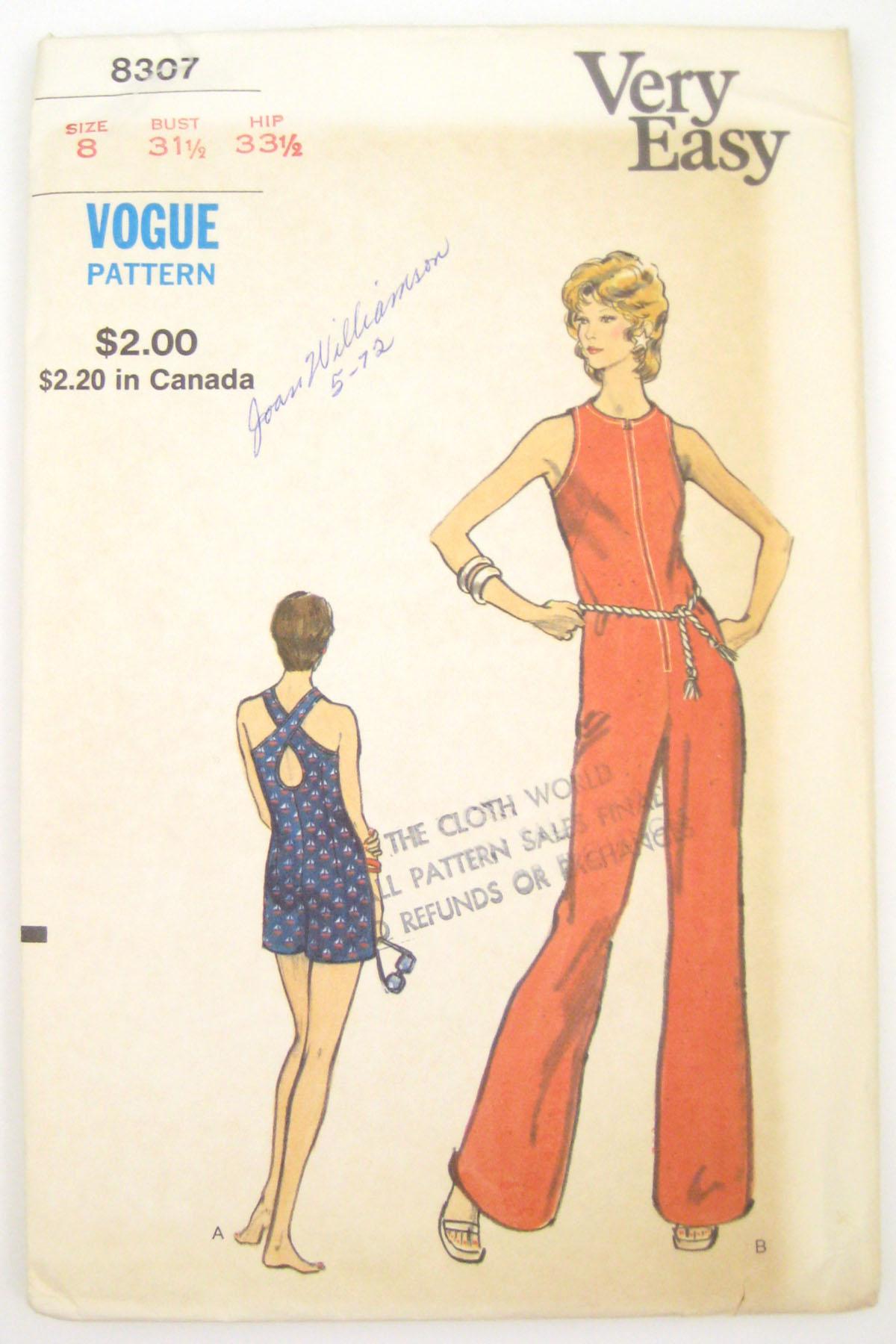 Vogue 8307 B