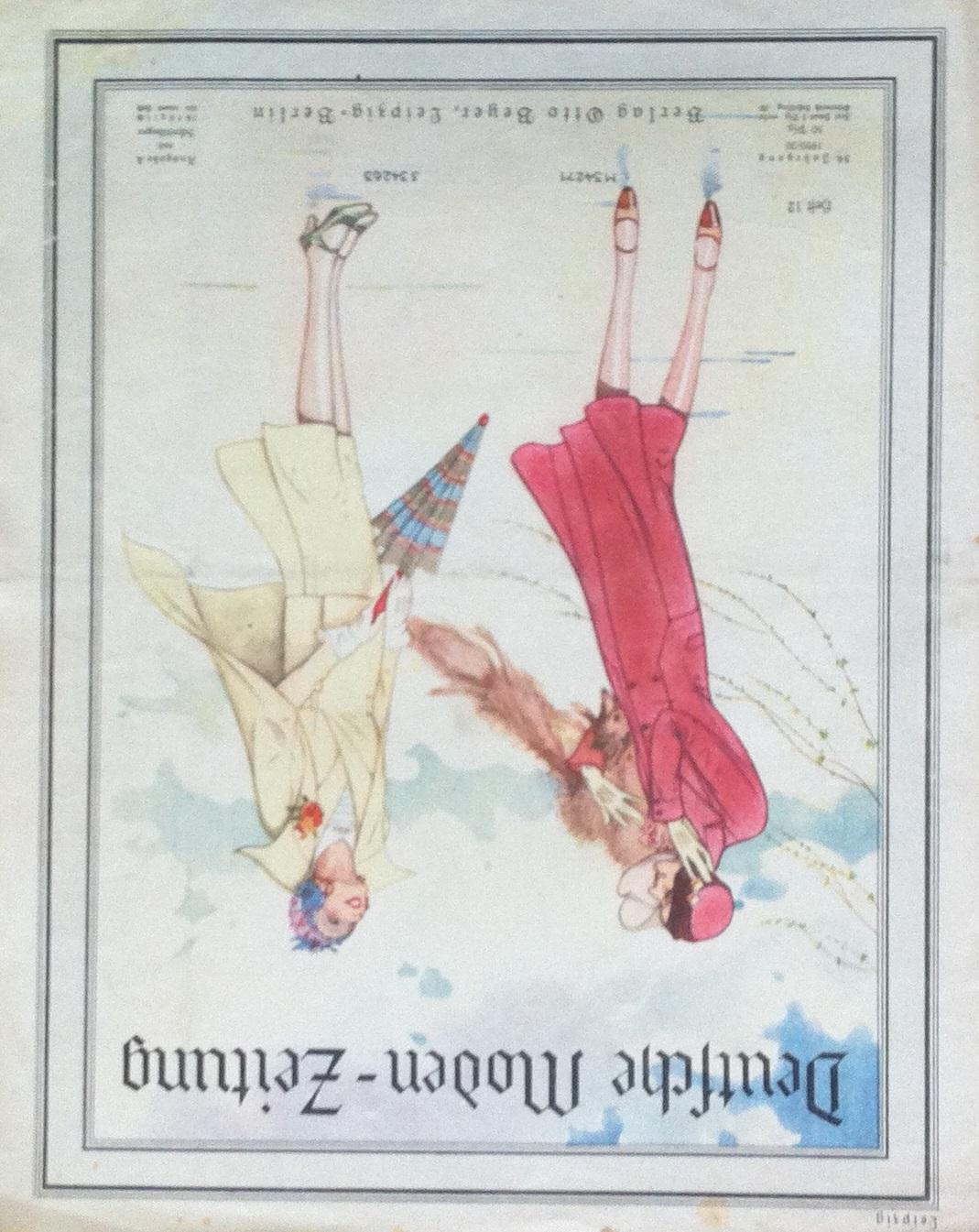 Deutsche Moden-Zeitung No. 12 Vol. 39 1929/30