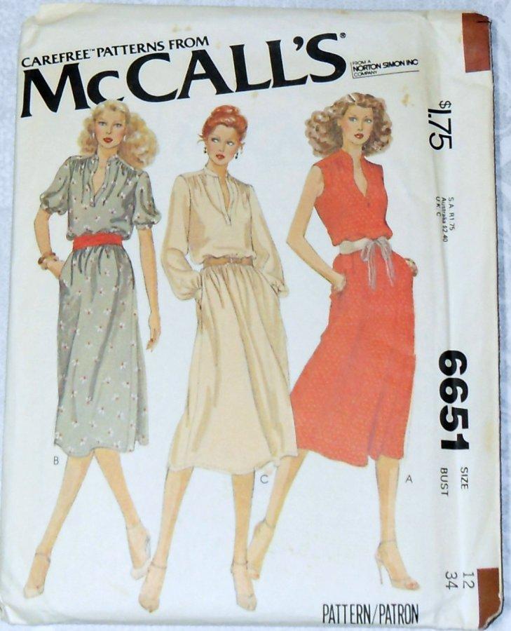 McCall's 6651