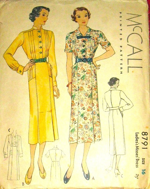 McCall 8791