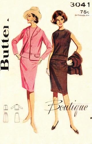 Butterick 3041 B