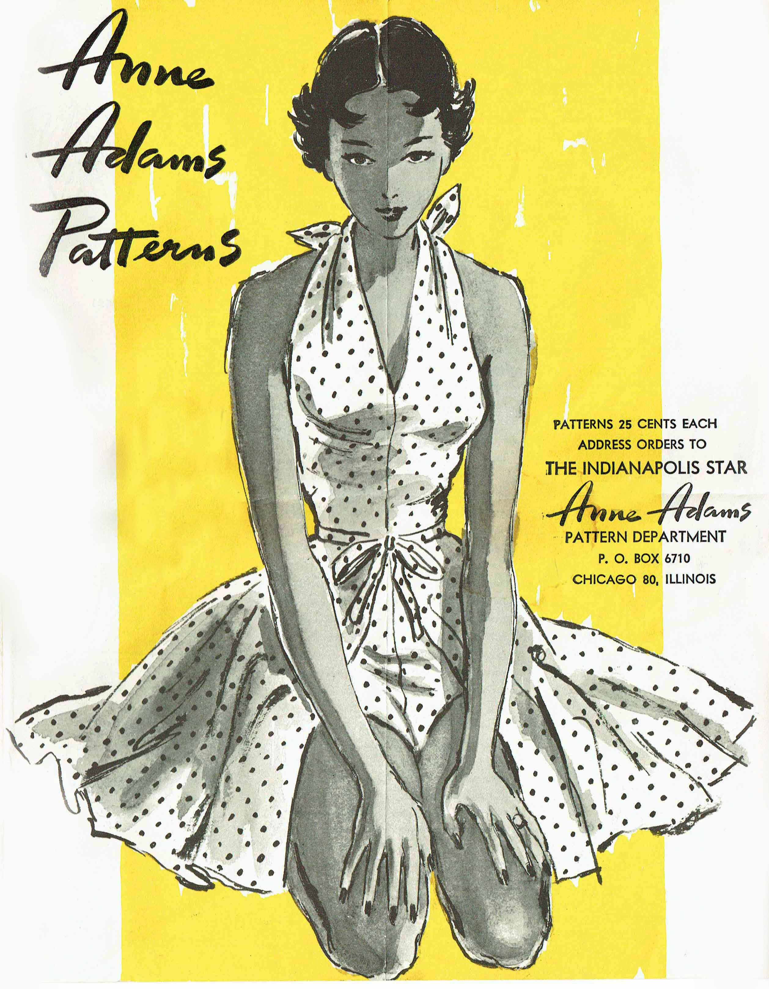 Anne Adams Patterns Summer 1950