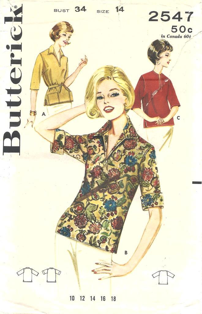 Butterick 2547
