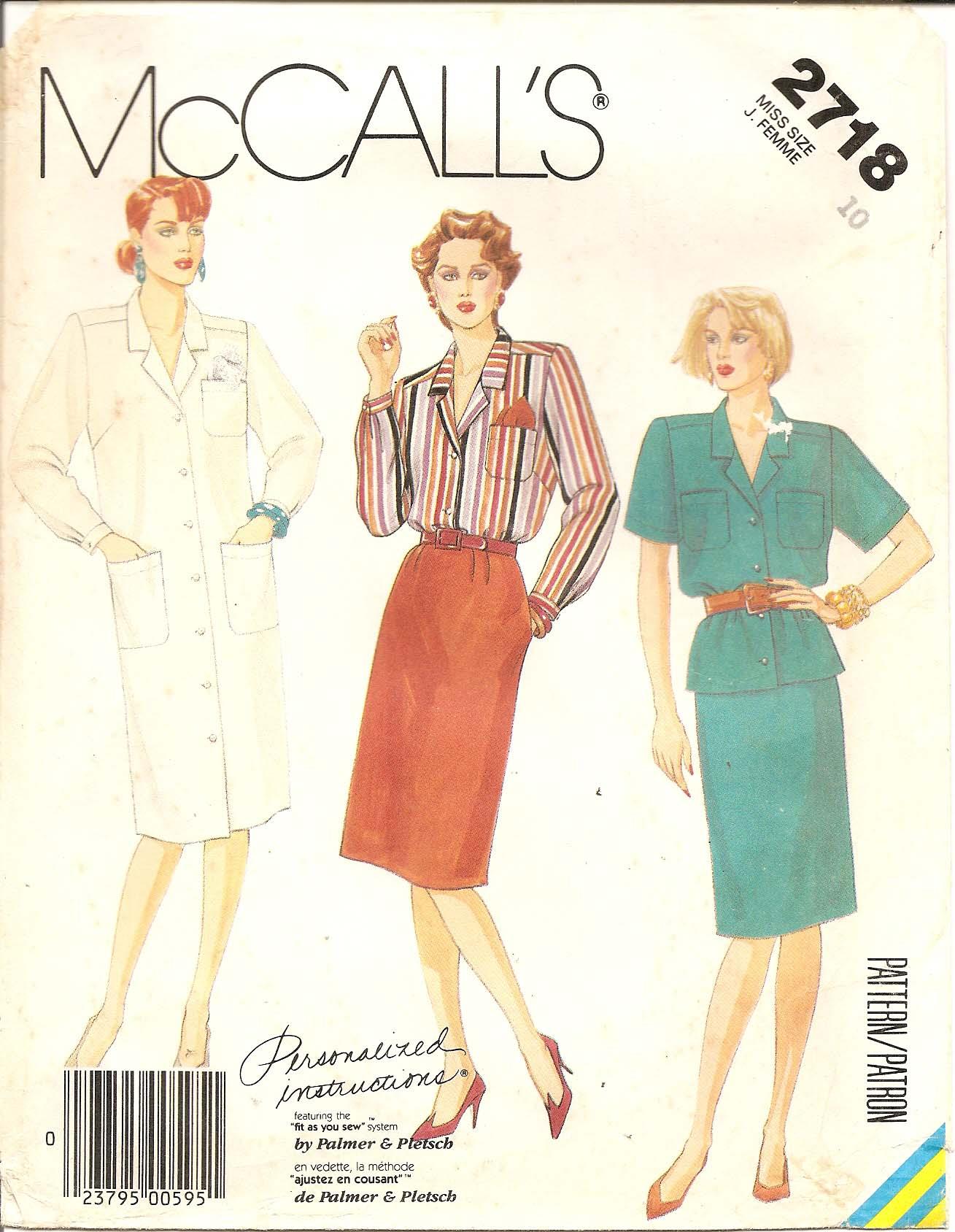 McCall's 2718