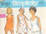 Simplicity 8197 B