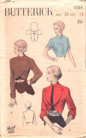 Bolero with Three Sleeve Lengths