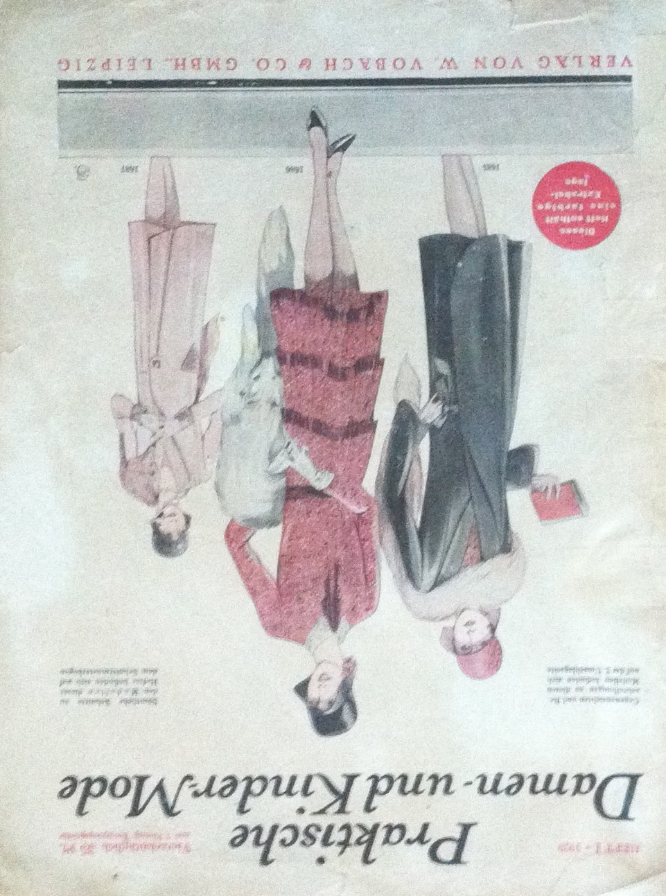 Praktische Damen- und Kinder-Mode No. 1 1929