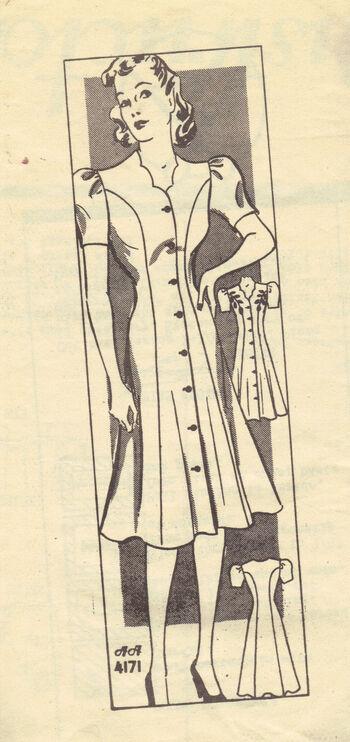 Anne Adams 4171 Circa 1940s