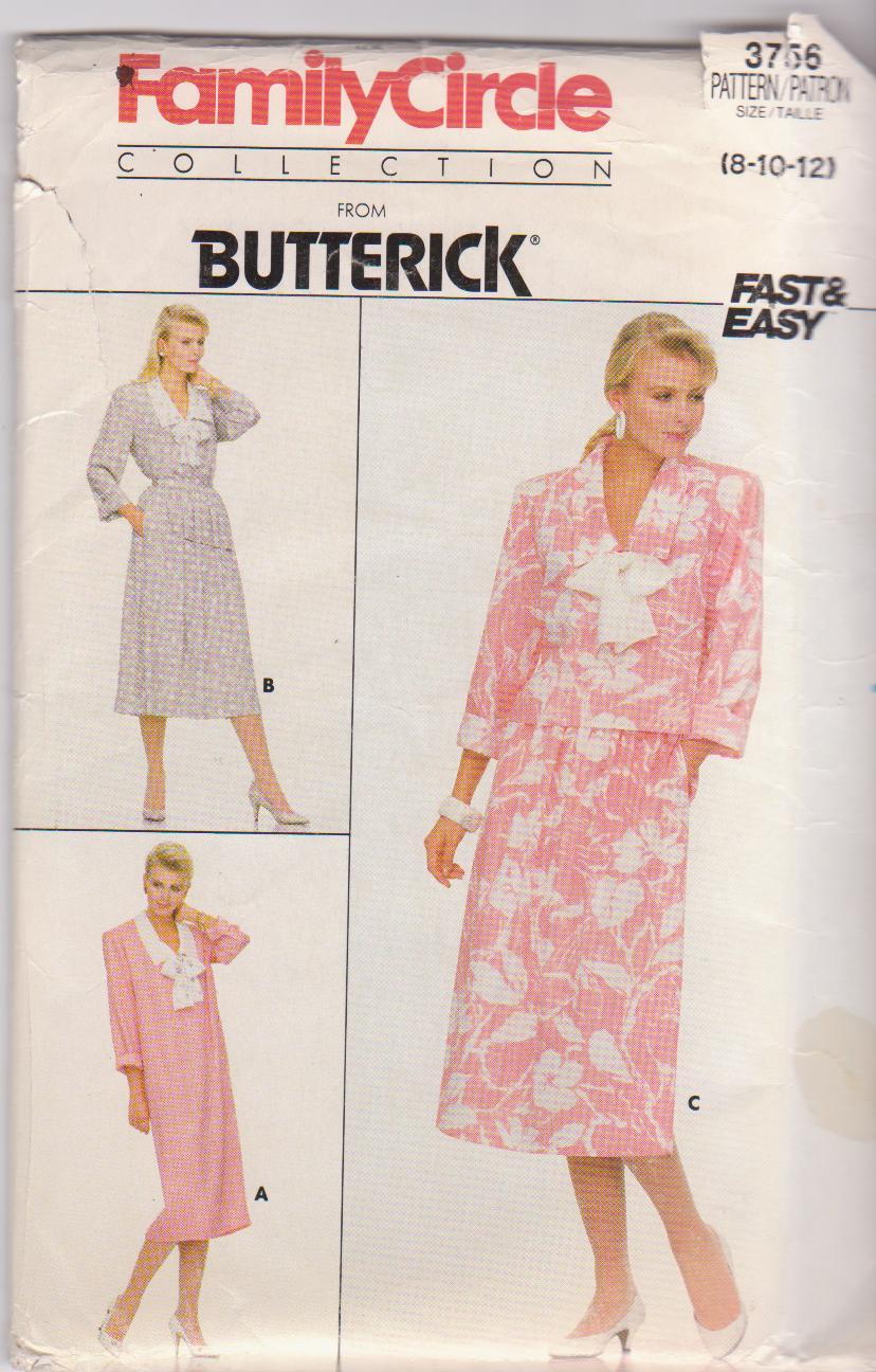 Butterick 3756 B