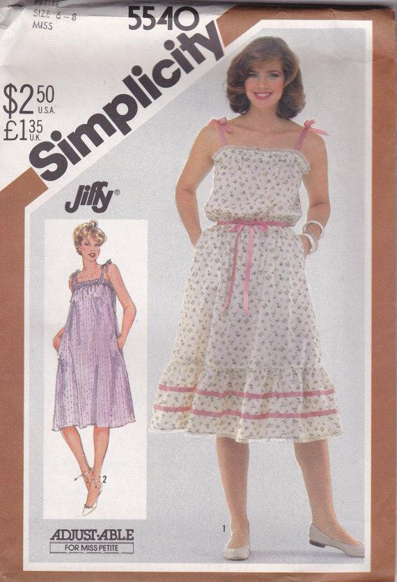 Simplicity 5540 B