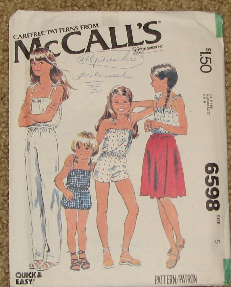 McCall's 6598