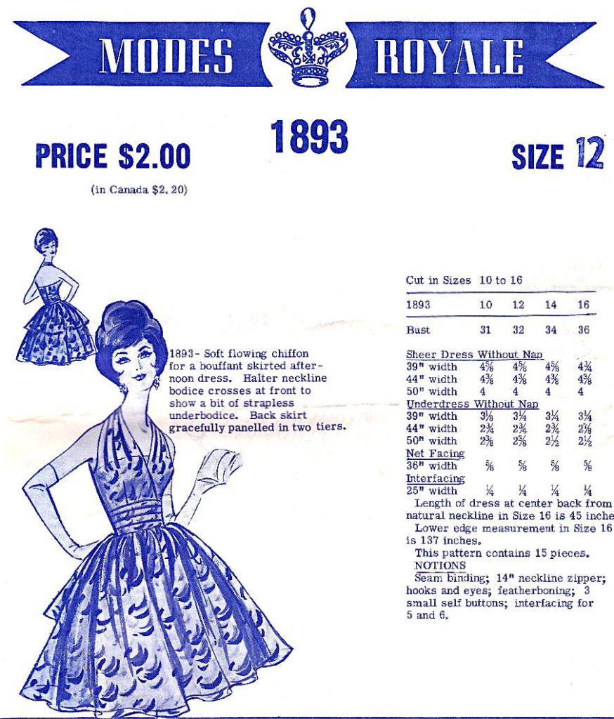 Modes Royale 1893