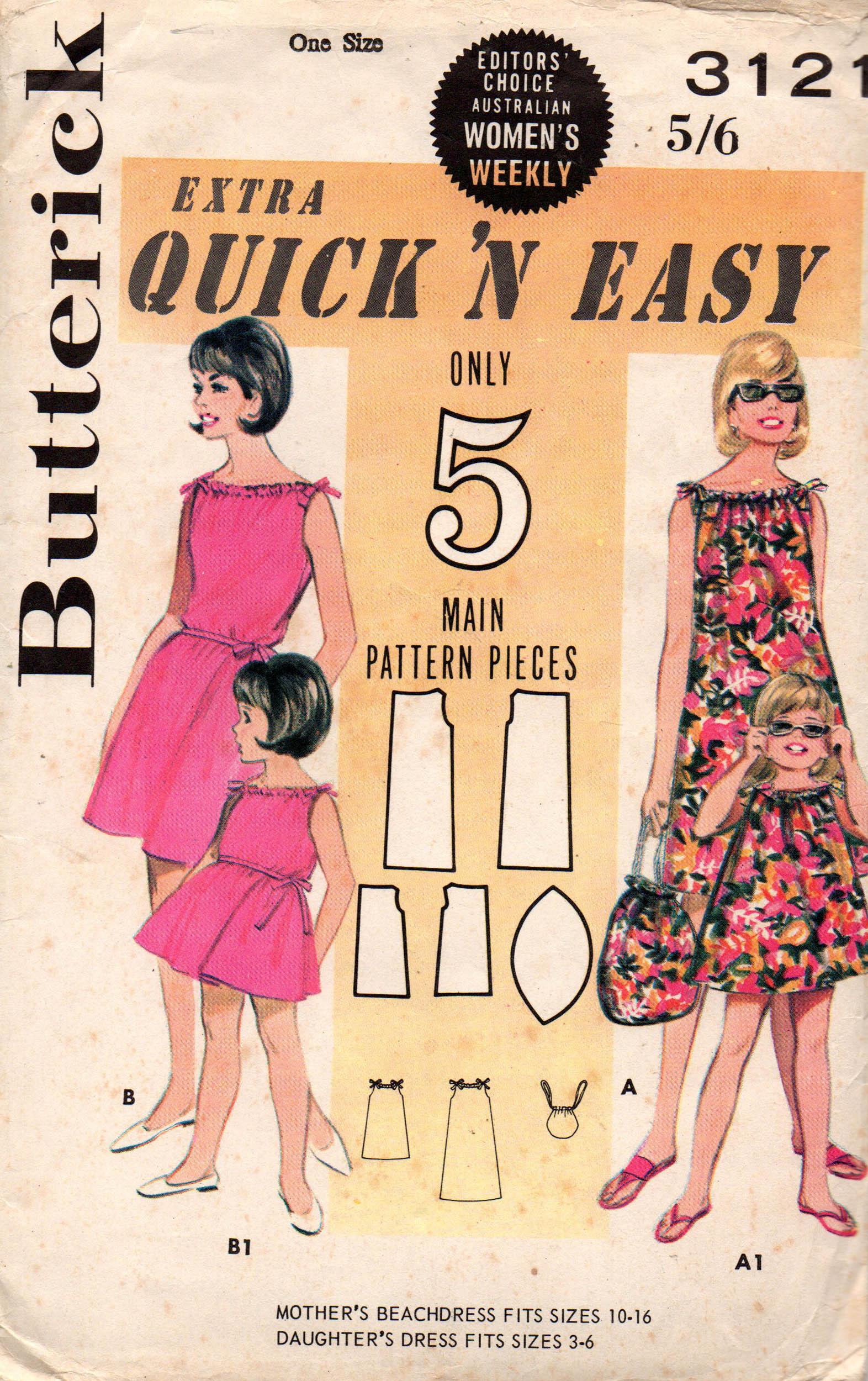 Butterick 3121 B