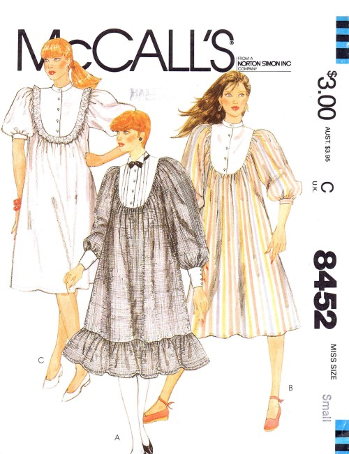 McCall's 8452 A